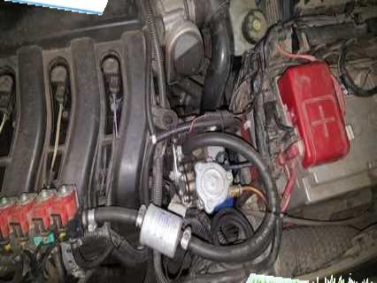 Chevrolet Niva 2 гбо