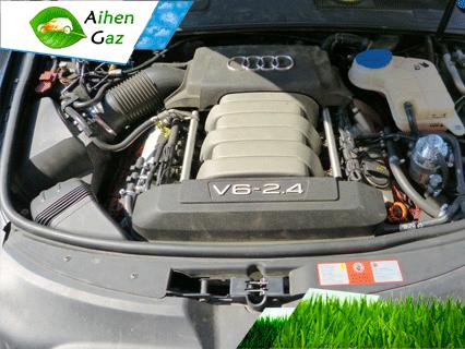 Audi A6 гбо Aihen Gaz