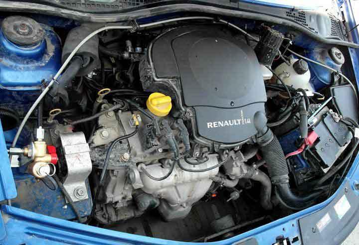 Renault Logan ГБО