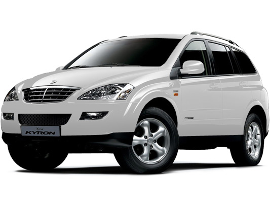 SsangYong Kyron ГБО