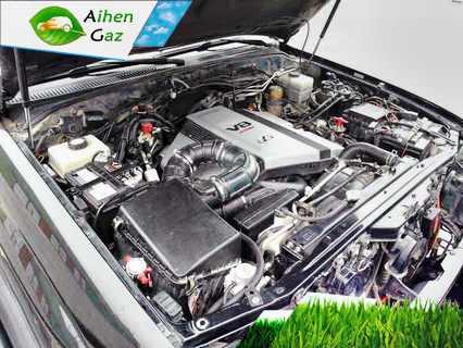 Lexus LX470 ГБО