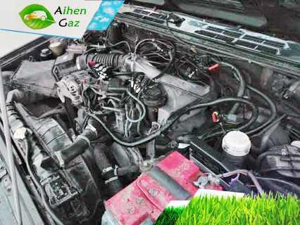 Mitsubishi Pajero II V6 ГБО