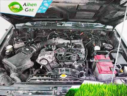 Nissan Stagea ГБО