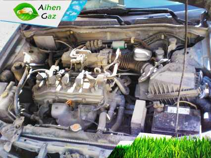 Nissan Almera N16 ГБО