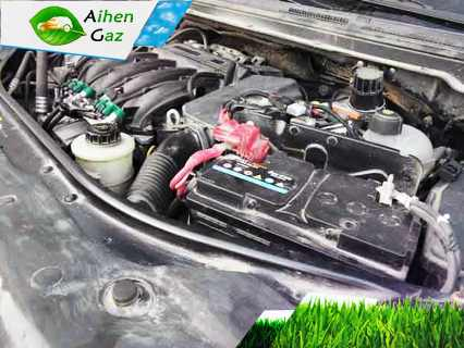 Nissan Almera N17 ГБО