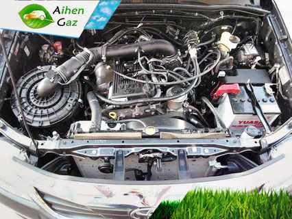 Toyota HiLux N70 ГБО