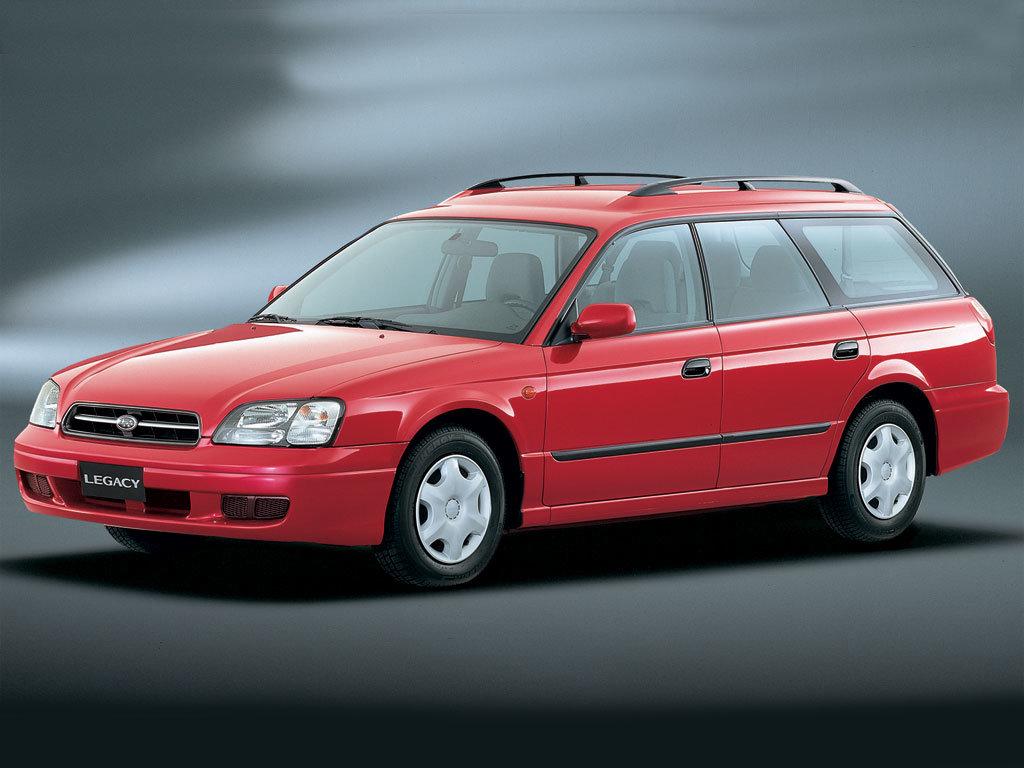 Subaru Legacy B4 ГБО